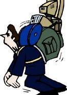 El trapecio, nuestra mochila particular.
