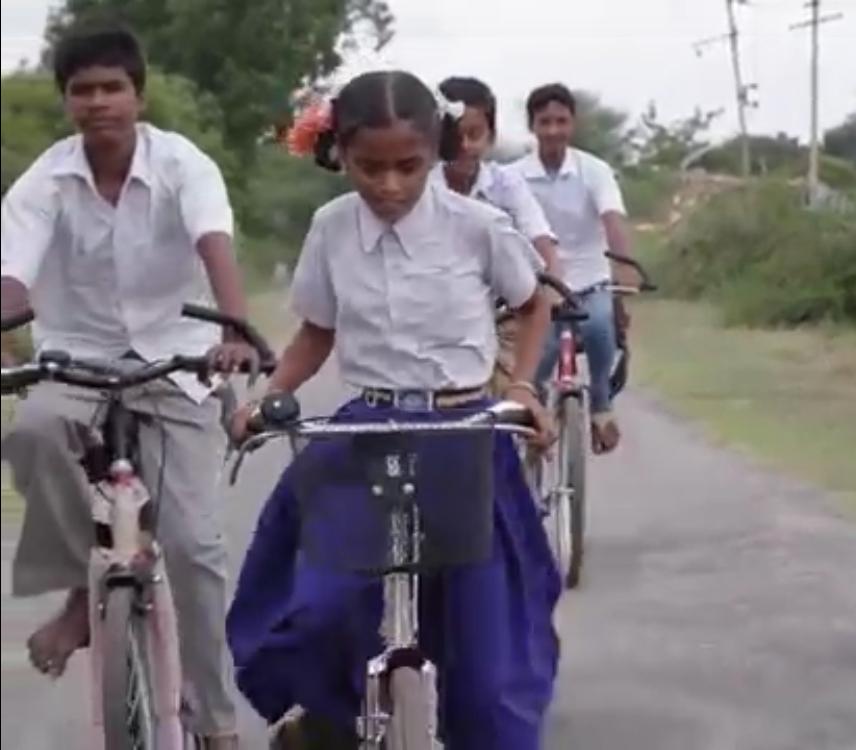 Las bicis ya ruedan por India